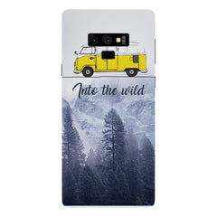 Into the wild for travel Wanderlust people Samsung Galaxy Note 9 hard plastic printed back cover