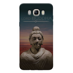 Lord Buddha peace  design,   Samsung Galaxy On8 hard plastic printed back cover.