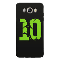 Lionel Messi 10 Playing  design,   Samsung Galaxy On8 hard plastic printed back cover.