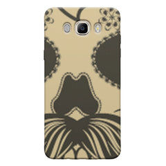 Voguish skull  design,   Samsung Galaxy On8 hard plastic printed back cover.