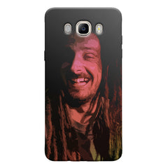 Happy Pot Stoner  design,   Samsung Galaxy On8 hard plastic printed back cover.