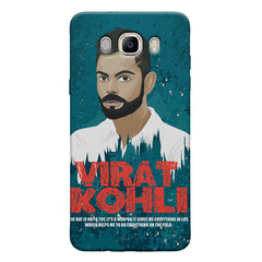 Virat Kohli Indian Cricket Team Captain Quote design,   Samsung Galaxy On8 hard plastic printed back cover.