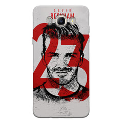 David Beckhan 23 Real Madrid design,   Samsung Galaxy On8 hard plastic printed back cover.