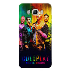 Coldplay Colorful Album Art A Head Full of Dreams design,   Samsung Galaxy On8 hard plastic printed back cover.