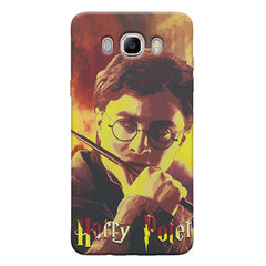 Harry Potter Gryffindor Abstract Art design,   Samsung Galaxy On8 hard plastic printed back cover.