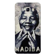 Nelson Mandela Madiba Abstract Art design,   Samsung Galaxy On8 hard plastic printed back cover.