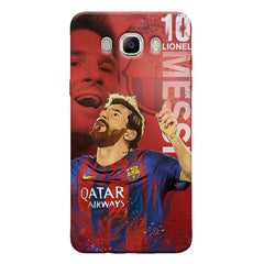 Lionel Messi Fan Art FCB 10 design,   Samsung Galaxy On8 hard plastic printed back cover.