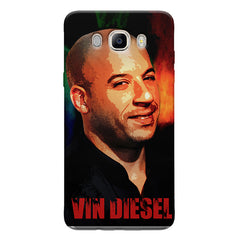 Vin Diesel Oil Painting Fanart design,   Samsung Galaxy On8 hard plastic printed back cover.
