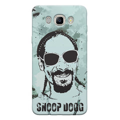 Snoop Dogg Popart design,   Samsung Galaxy On8 hard plastic printed back cover.
