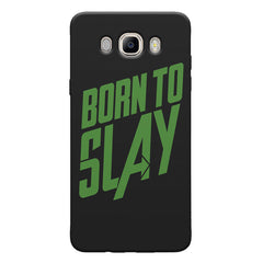 Born to Slay Design Samsung Galaxy On8 hard plastic printed back cover.