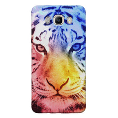 Colourful Tiger Design Samsung Galaxy On8 hard plastic printed back cover.
