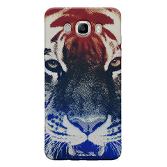 Pixel Tiger Design Samsung Galaxy On8 hard plastic printed back cover.