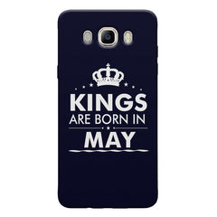 Kings are born in May design Samsung Galaxy On8 all side printed hard back cover by Motivate box Samsung Galaxy On8 hard plastic printed back cover.