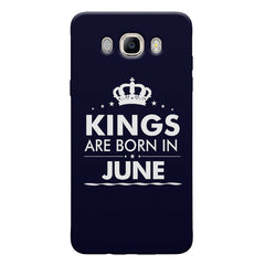 Kings are born in June design Samsung Galaxy On8 all side printed hard back cover by Motivate box Samsung Galaxy On8 hard plastic printed back cover.