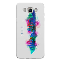 Incredible India Design Samsung Galaxy On8 hard plastic printed back cover.