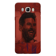Messi jersey 10 blended design Samsung Galaxy On8 hard plastic printed back cover.