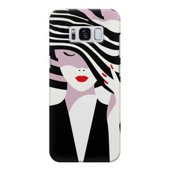 woman  design,  Samsung S8 Plus  printed back cover
