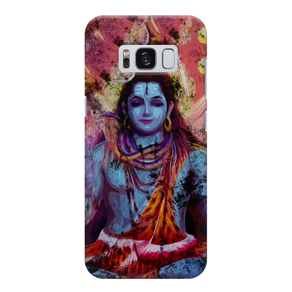 Shiva painted design Samsung S8  printed back cover