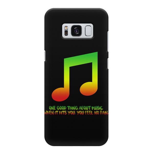 Music quotes  Samsung S8  printed back cover