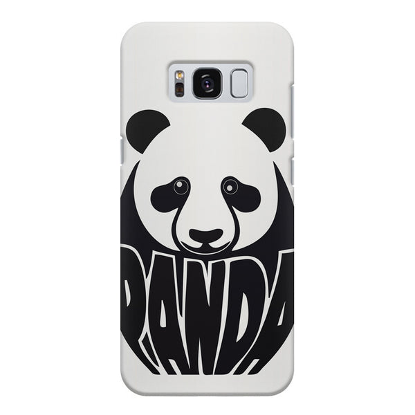 White Panda  design,  Samsung S8 Plus  printed back cover