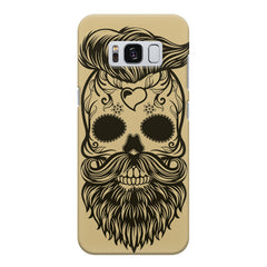 Voguish skull  design,  Samsung S8  printed back cover