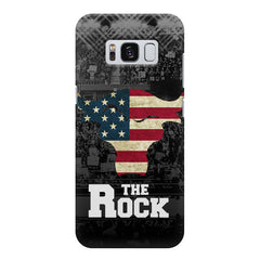 The Rock  design,  Samsung S8  printed back cover