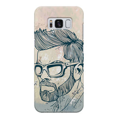 Virat Kohli Stylish Abstract Art design,  Samsung S8  printed back cover