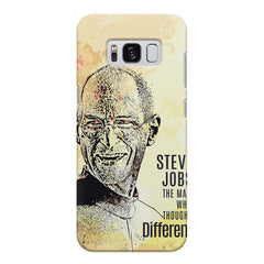 Steve Jobs Apple Art design,  Samsung S8  printed back cover