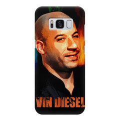 Vin Diesel Oil Painting Fanart design,  Samsung S8  printed back cover