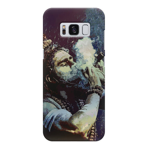 Smoking weed design Samsung S8  printed back cover