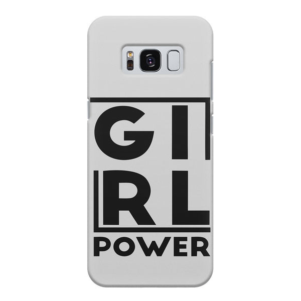 Girl power deisgn Samsung S8  printed back cover