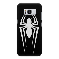 Spiderman design Samsung S8  printed back cover