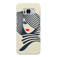 Fashionable girly design Samsung S8  printed back cover