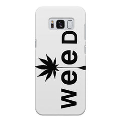 Weed tree design Samsung S8 Plus  printed back cover