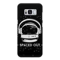 Spaced out by music design Samsung S8  printed back cover