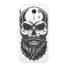 Skull with the beard  design,  Samsung Galaxy J3 2017  printed back cover