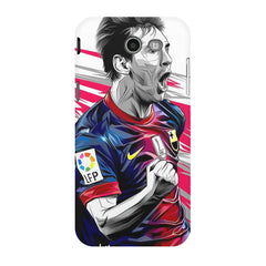 Messi illustration design,  Samsung Galaxy J3 2017  printed back cover