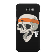 Skull Funny Just Did It !  design,  Samsung Galaxy J3 2017  printed back cover