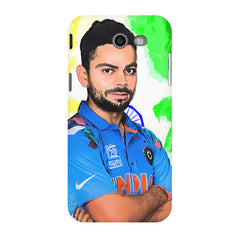 Virat Kohli Oil Painting India design,  Samsung Galaxy J3 2017  printed back cover