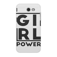 Girl power deisgn Samsung Galaxy J3 2017  printed back cover