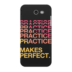 Practise makes perfect design Samsung Galaxy J3 2017  printed back cover