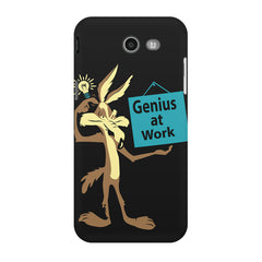 Genius at work design Samsung Galaxy J3 2017  printed back cover