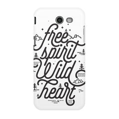 I am a free spirit design Samsung Galaxy J3 2017  printed back cover
