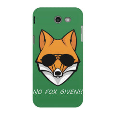 No fox given design Samsung Galaxy J3 2017  printed back cover