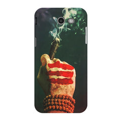 Smoke weed (chillam) design Samsung Galaxy J3 2017  printed back cover