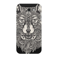 Fox illustration design Samsung Galaxy J3 2017  printed back cover