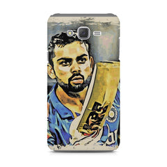 Virat Kohli  design,  Samsung Galaxy J1 Ace  printed back cover