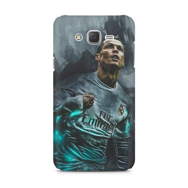 Oil painted ronaldo  design,  Samsung Galaxy J5 (2016)  printed back cover