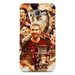 Messi  design,  Samsung Galaxy J1 Ace  printed back cover