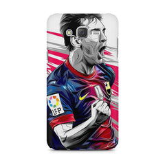 Messi illustration design,  Samsung Galaxy J1  printed back cover